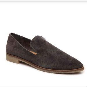 B2G1 Dolce Vita Carla Gray Suede Loafers